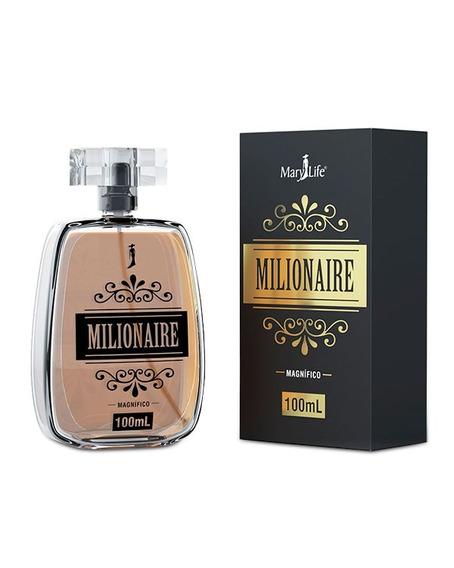 Perfume Masculino Milionaire 100ml Mary Life - Magnífico