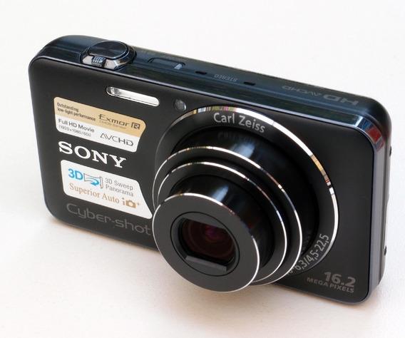 Câmera Digital Sony Cyber-shot Dsc-wx50 16.2 Preta Semi-nova