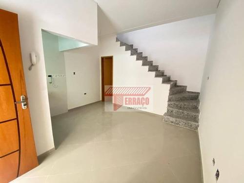 Imagem 1 de 12 de Sobrado Com 2 Dormitórios À Venda, 120 M² Por R$ 399.000 - Vila Príncipe De Gales - Santo André/sp - So1120