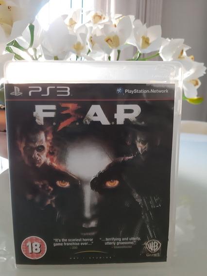 Fear 3 Ps3 Midia Fisica