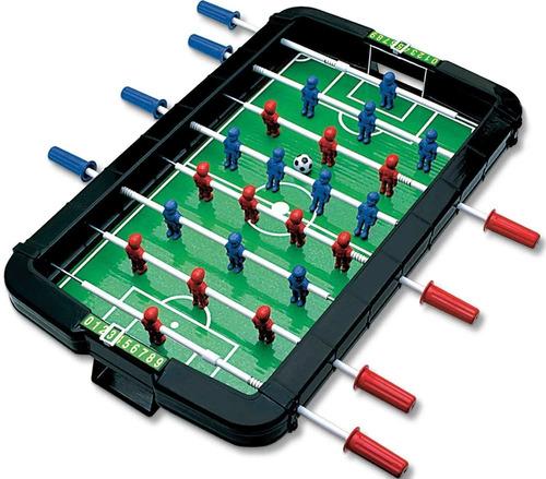 Imagem 1 de 6 de Jogo Pebolim Mesa De Futebol Infantil Braskit Criança