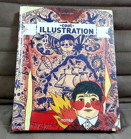 Livro Cool Illustration Carolina Amell / Importado Capa Dura