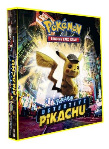 Imagem 1 de 2 de  Pasta Álbum Tipo Fichário Pokémon + 30 Folhas Yes