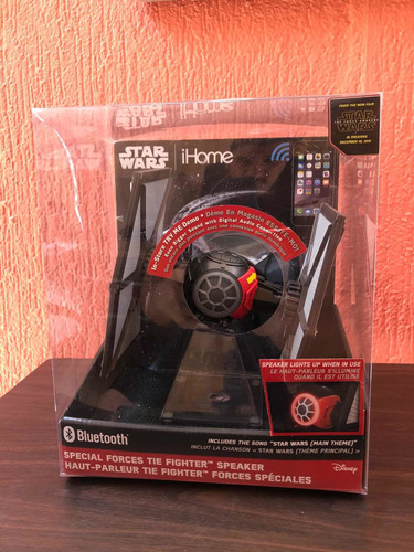 Stars Wars Tie Figther Parlante Bluetooth Ihome