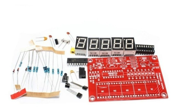 1 Unidade - Frequencímetro 0-50 Mhz - Teste Cristal - Kit