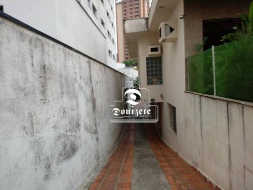 Casa Com 7 Dormitórios À Venda, 371 M² Por R$ 1.600.000,10 - Vila Bastos - Santo André/sp - Ca0981