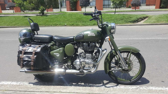 Royal Enfield Classic 500 Battle Green
