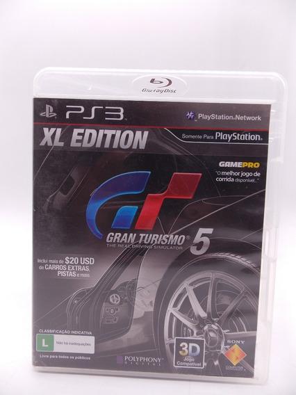 Gran Turismo 5 Xl Play Station 3 Original Mídia Física