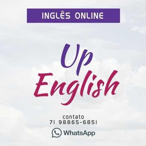 Imagem 1 de 3 de Aulas Particulares De Inglês Online