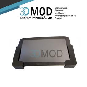 Kit Com 50 Suportes iPad Tablet Lateral Até 1 Cm De Parede