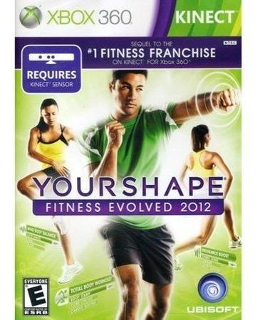 Jogo Xbox 360 Kinect Yourshape