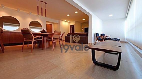 Apartamento De Luxo, Porteira Fechada Com 3 Dormitórios À Venda, 147 M² Vila Ema - São José Dos Campos/sp - Ap2510