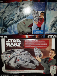 Star Wars. Millennium Falcon. The Force Awaken.