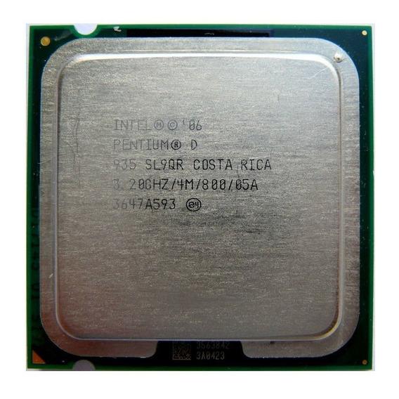 Processador Intel Pentium D 830 2m 3.00ghz 800mhz 775 Sl8cn