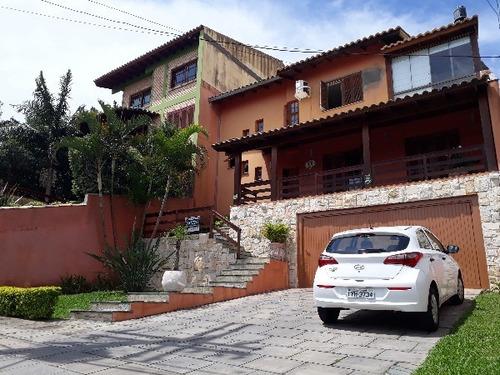 Casa Em Aberta Dos Morros Com 3 Dormitórios - Mi17311