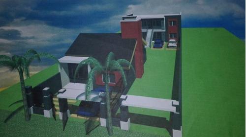 Imagen 1 de 7 de Lote De Terreno Con Planos Para Construir