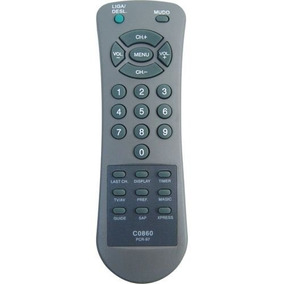 Kit 100 Controles Remoto Tv Turbo Antiga Vários Modelos Novo