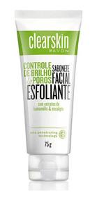 Sabonete Facial Esfoliante Clearskin 75g