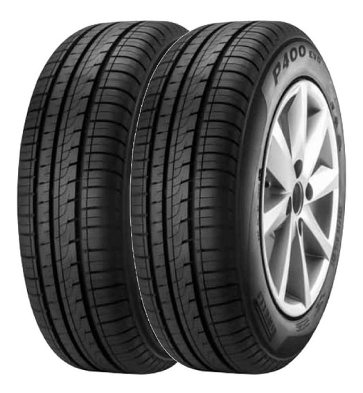 Combo X2 Neumaticos Pirelli 195/55r15 P400ev 85h Cuotas