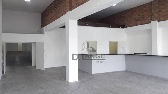Salão Para Alugar, 309 M² Por R$ 8.800/mês - Jardim Guanabara - Campinas/sp - Sl0748