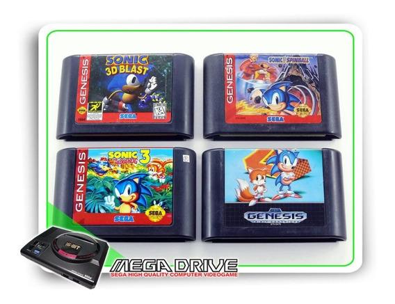 Lote 4 Jogos Originais Sega Mega Drive / Genesis - 004