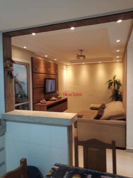 Apartamento Com 2 Dormitórios À Venda, 48 M² Por R$ 200.000 - Distrito Industrial Miguel Abdelnur - São Carlos/sp - Ap0976