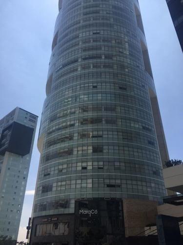 Departamento En Torre Amsterdam, Frente A La Mexicana