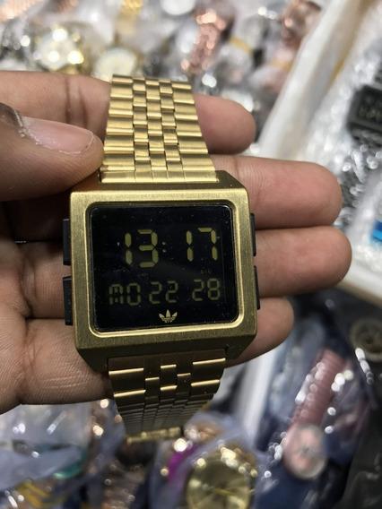 Relógio adidas Archive M1 Dourado