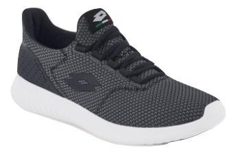 Tenis Sneaker Lotto Hombre Textil Gris Oxford Dtt 30536