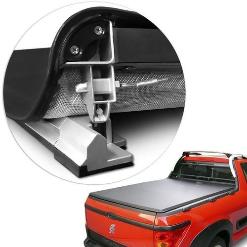 Imagen 1 de 6 de Lona Estructura De Aluminio Flash Cover Force Para Peugeot Hoggar Instalada
