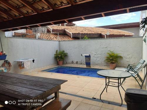 Casa Com 3 Dormitórios À Venda, 149 M² Por R$ 690.000,00 - Jardim Jacyra - Americana/sp - Ca0570