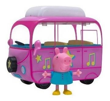 Imagen 1 de 3 de Peppa Pig - Camper Rosado Paseo