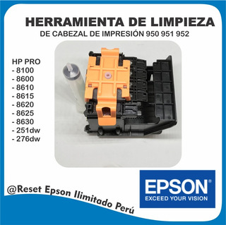 Herramienta De Limpieza Para Cabezal Hp 951 950xl 951xl