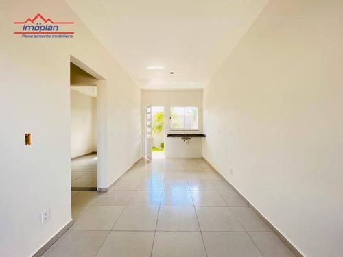 Casa Com 2 Dormitórios À Venda, 52 M² Por R$ 180.000 - Belvedere - Atibaia/sp - Ca3580