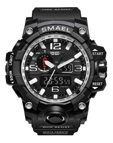 Relógio Militar Smael Masculino Original (5 Cores Disp.)