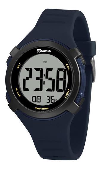 Relógio X Games Xport Masculino Digital Xmppd588 Bxdx Azul