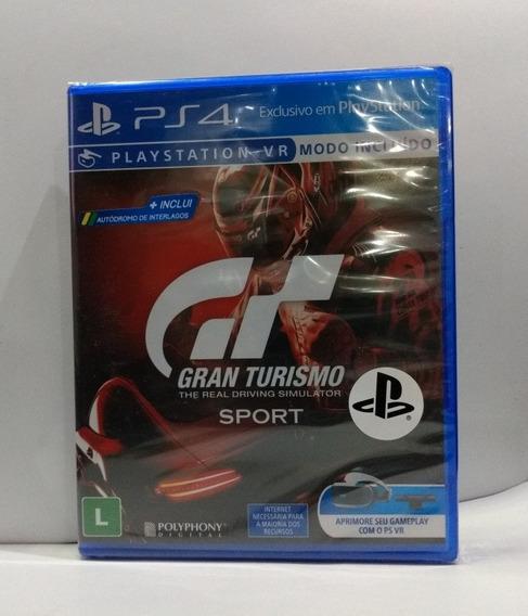 Gran Turismo Sport Ps4 Mídia Física Lacrado