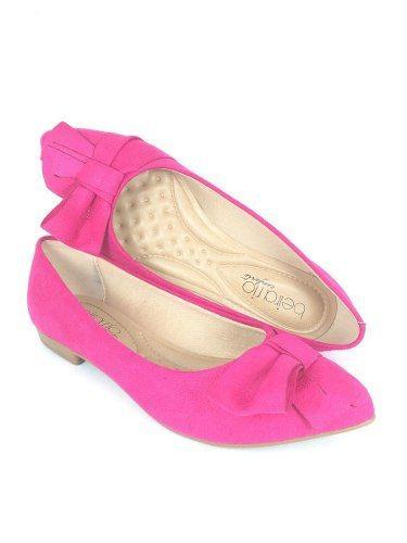 Sapatilha Feminina Beira Rio Pink Conforto 4136.145