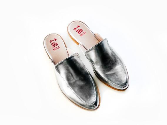 Suecos Zapatos Chatita Chata Flats Mujer