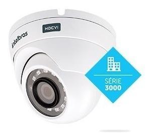 Camera Hdcvi Dome 20ir Intelbras 3120d 2,6mm 1mp G4