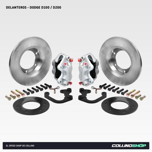 Kit Frenos A Disco Delantero Dodge Pick Up D100 D200
