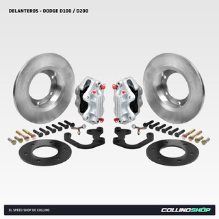 Kit Frenos A Disco Delantero Dodge Pick Up D100 D200