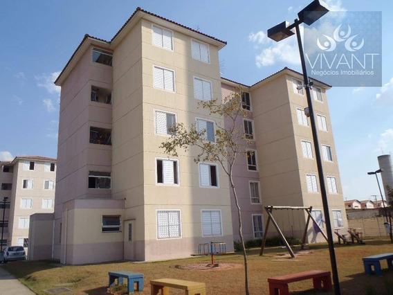 Apartamento Com 2 Dormitórios Para Alugar Por R$ 750,00/mês - Jundiapeba - Mogi Das Cruzes/sp - Ap0056