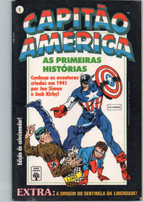 Capitão América - As Primeiras Histórias - Frete Grátis