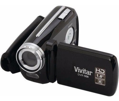 Mini Cámara De Video Vivitar 508 Hd 720 Para Principiantes