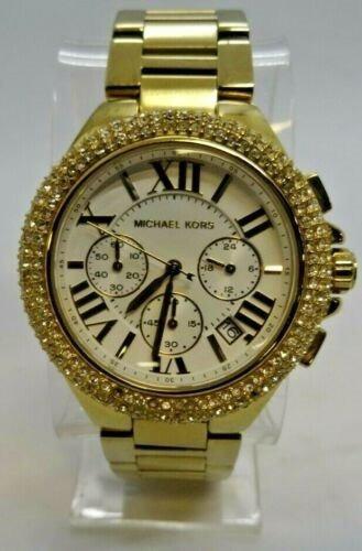 Relogio Michael Kors Original Com Bezel Em Diamantes