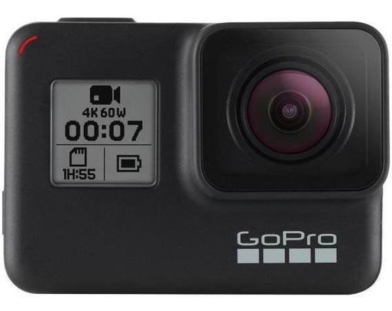 Gopro Hero 7 Black 12mp 4k Wi-fi Bluetooth 2a Prova De Água