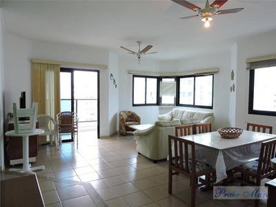 Flat No Guarujá, 03 Dormitórios, Lazer Completo - Fl0010