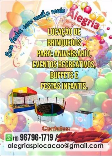 Imagem 1 de 3 de Aluguel De Brinquedos Pra Festa