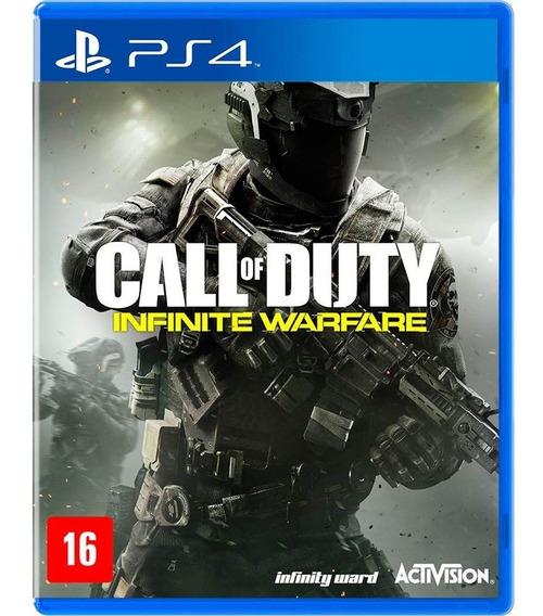 Jogo Call Of Duty Infinite Warfare - Ps4 Midia Física